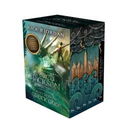 Percy Jackson and the Olympians Complete Series and Percy Jackson's Greek Gods Boxed Set
