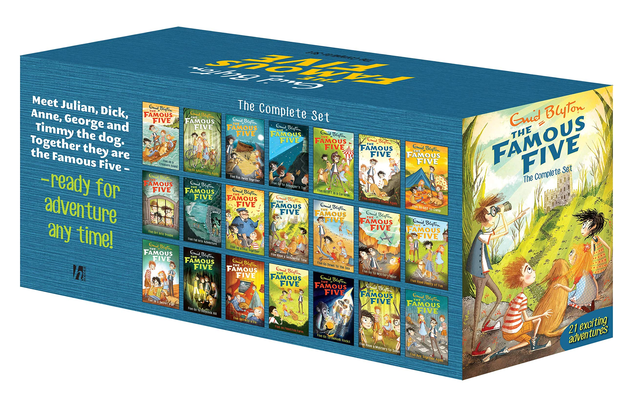 The Famous Five the Complete Set