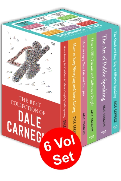 The Best Collection of Dale Carnegie ( 6 Vol Set )