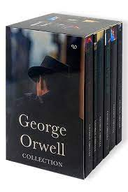 The George Orwell Complete Classic Essential Collection 6 Books Box Set