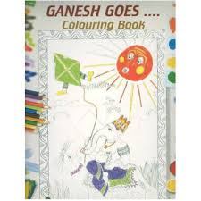 Ganesh goes.. colouring book