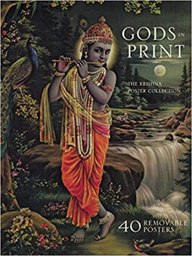 Gods in Print the krishna poster collection