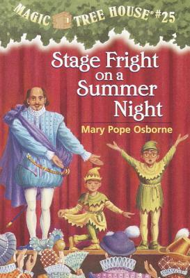 stage fight on a summer night